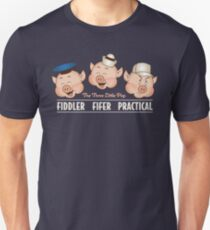 The Three Little Pigs 3 Disney's classics T-Shirt
