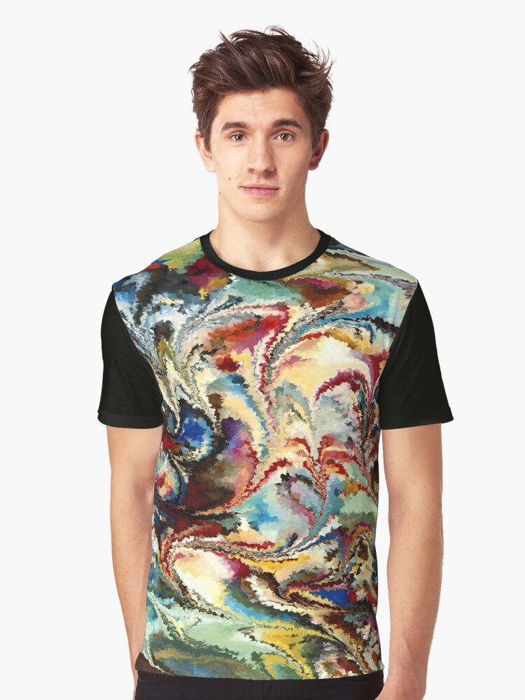 modern composition 36 by rafi talby Graphic T-Shirt Front