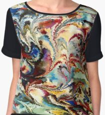 modern composition 36 by rafi talby Women's Chiffon Top