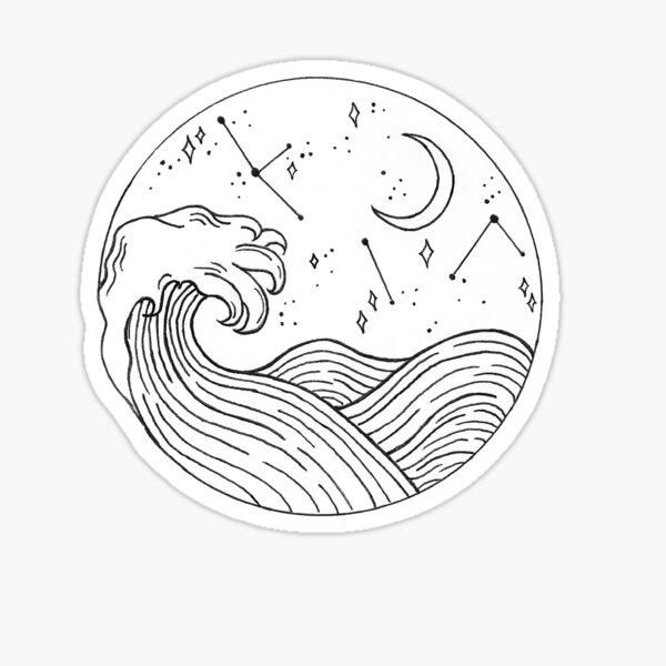Seascape Sticker