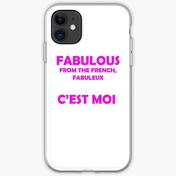 Fabulous - C'est moi (Pink) iPhone Soft Case
