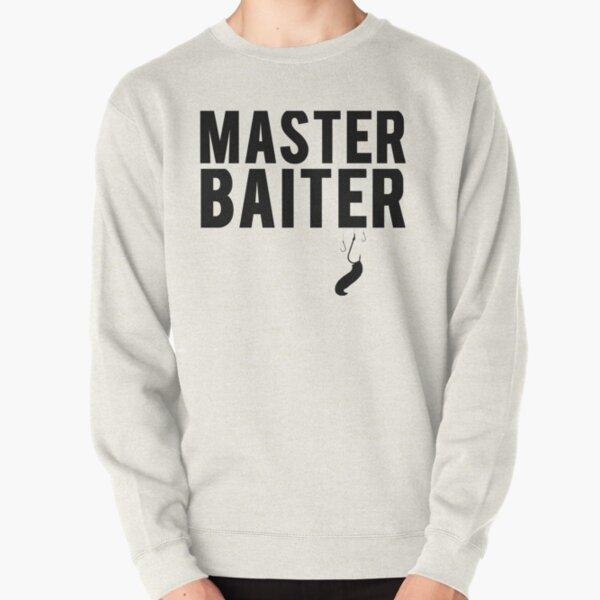 Master Baiter Jumper Funny Fishing Lover Baiting Gift Adult /& Kids Jumper Top