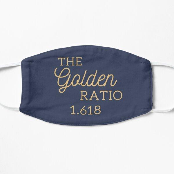 The Golden ratio 1.618 Flat Mask