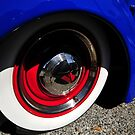 Classic car wheel by David Lee Thompson