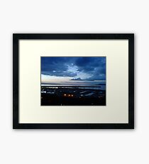 Dublin Bay Sunset Framed Print