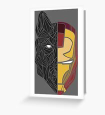 Game Of Thrones / Iron Man: Stark Family Greeting Card
