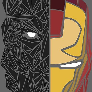 Game Of Thrones / Iron Man: Stark Family by Digitize