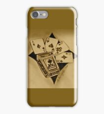 Aces of gold iPhone Case/Skin