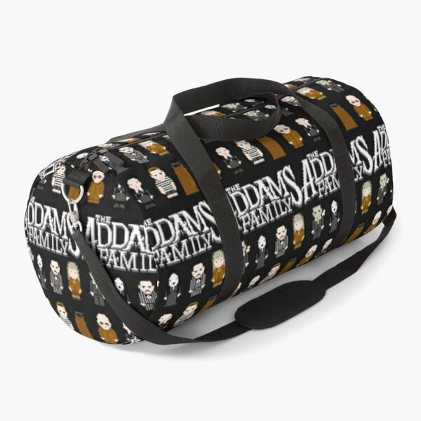 THE FAMILY ADDAMS PIXEL Duffle Bag