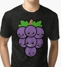 Fruit of the Vine: Purple Grapes Tri-blend T-Shirt