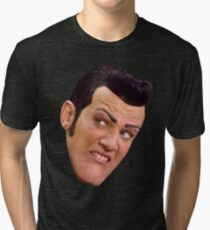 MMMM MMMM CREAMY Tri-blend T-Shirt