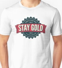 stay gold. Unisex T-Shirt