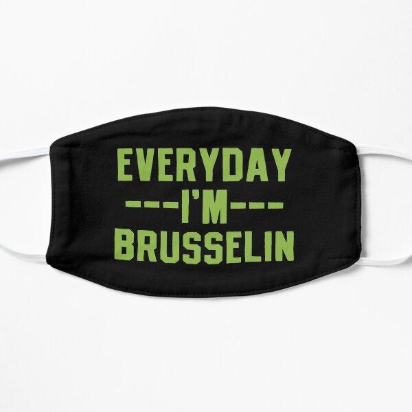 Brussels Sprouts Vegetable Vegetarian Flat Mask