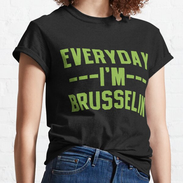 Brussels Sprouts Vegetable Vegetarian Classic T-Shirt