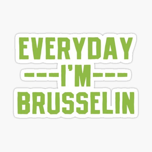 Brussels Sprouts Vegetable Vegetarian Sticker