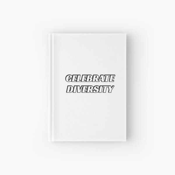 CELEBRATE DIVERSITY  Hardcover Journal