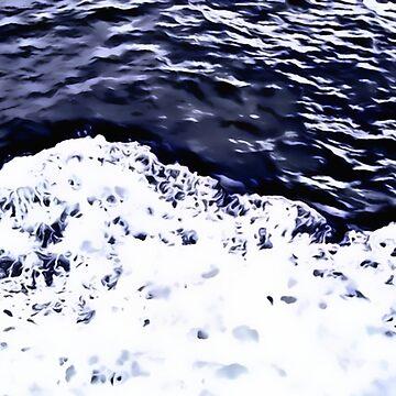 Ferry Wake by DeneWest