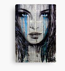 blue azalea Canvas Print