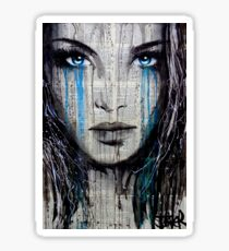 blue azalea Sticker