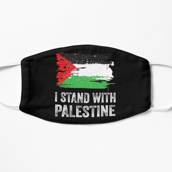 Je suis avec la Palestine Masque sans plis