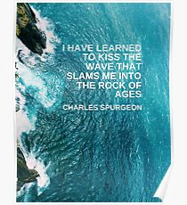 Waves by Charles Spurgeon Poster