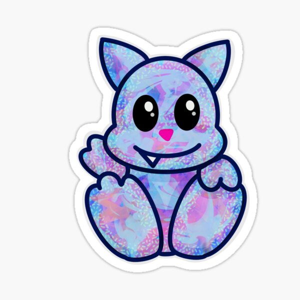 Little Monster Cat Sticker