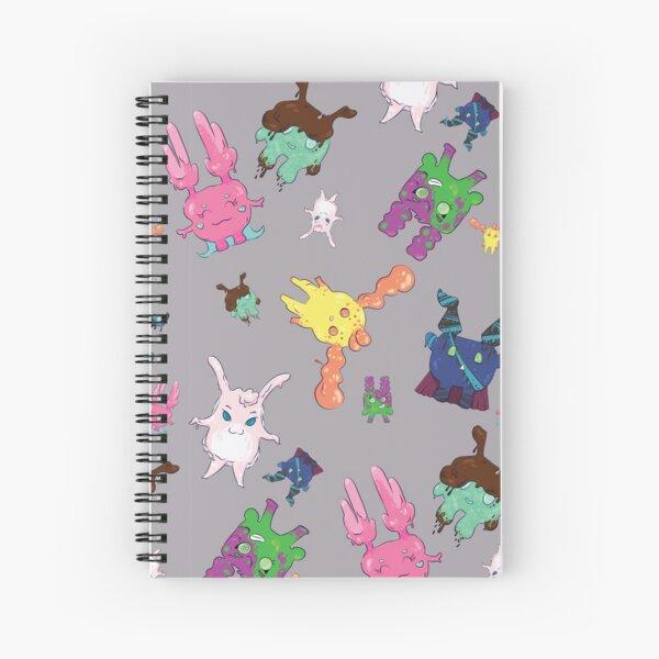 Ilo Jelly Monster Pattern Spiral Notebook