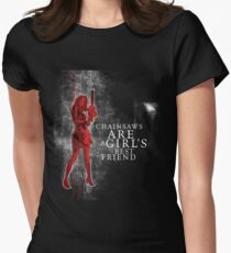 chainsaws are a girls best friend T-Shirt