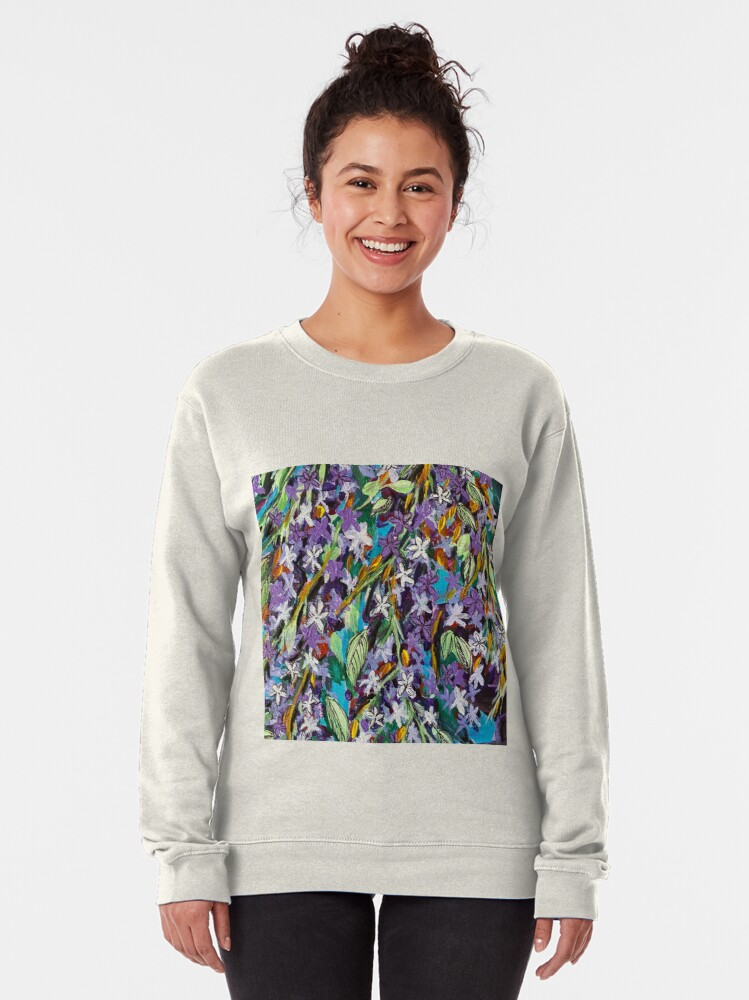Alternate view of Florida Lilac Pullover Sweatshirt