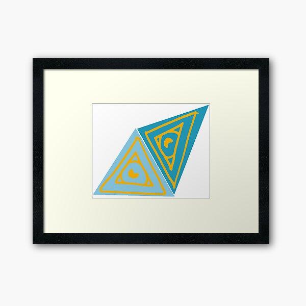 Illumin-eye-ti Framed Art Print