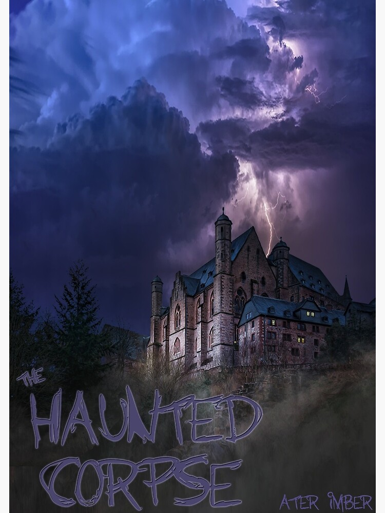 The Haunted Corpse Book Cover by AterImber