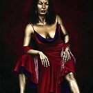 Portrait of a Dancer by Richard Young