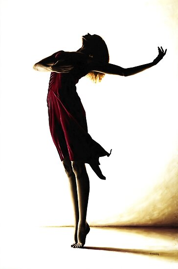 Poise in Silhouette by Richard Young
