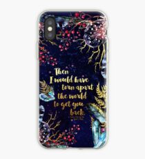 ACOMAF - Torn Apart The World iPhone Case