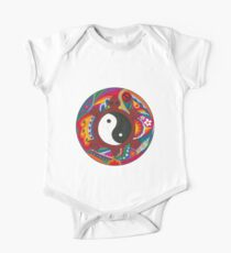 Psychedelic Turtle Yin Yang Kids Clothes