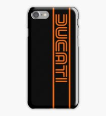 Ducati Motorcycles Italy iPhone Case/Skin