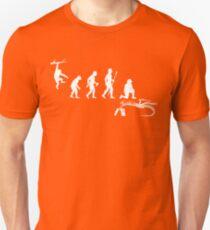 Funny Palaeontology Evolve Unisex T-Shirt
