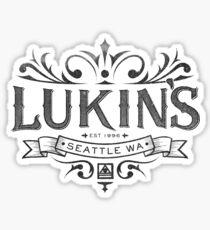 Pearl Jam Inspired Lukin's Crest Sticker