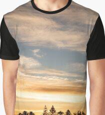 East Coast Sunrise (pano) Graphic T-Shirt