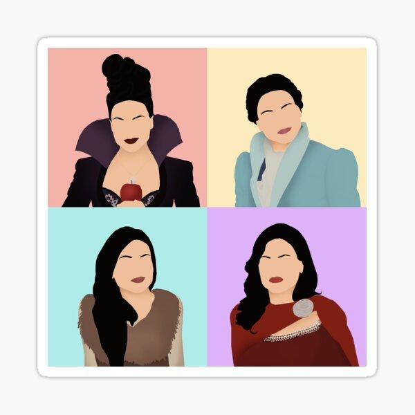 Regina Mills 4 in 1 Sticker