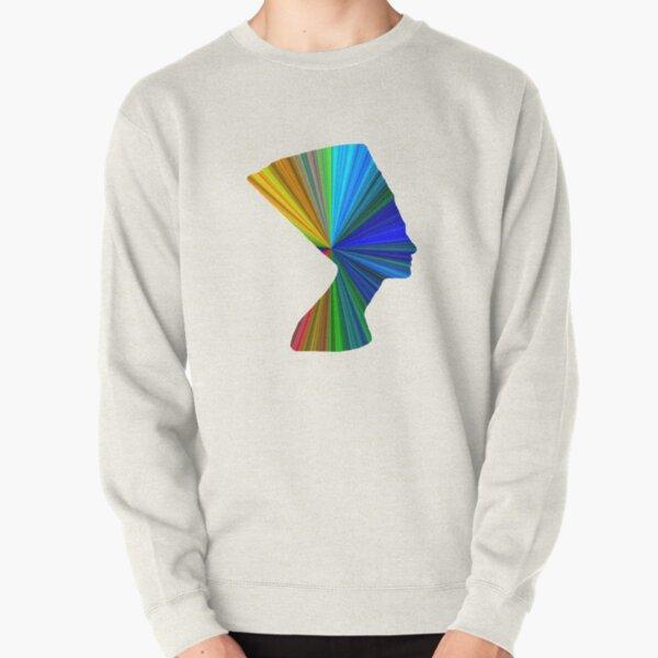Modern Nefertiti Pullover Sweatshirt
