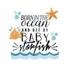 Bit by baby starfish by ParrillaStore