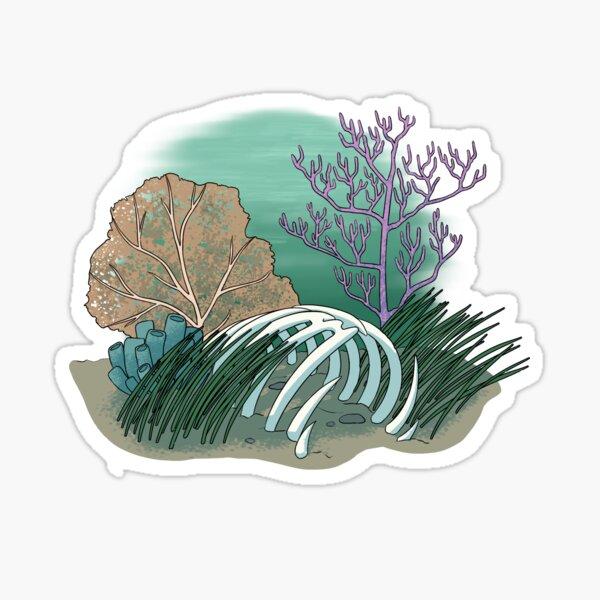 Ocean Bones Sticker