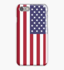 """The national flag of the United States of America -  Authentic 10:19 """"G-spec"""" (for """"government specification"""" ) Scale and colors iPhone Case/Skin"""