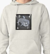 Moody Little Dolphin Pullover Hoodie