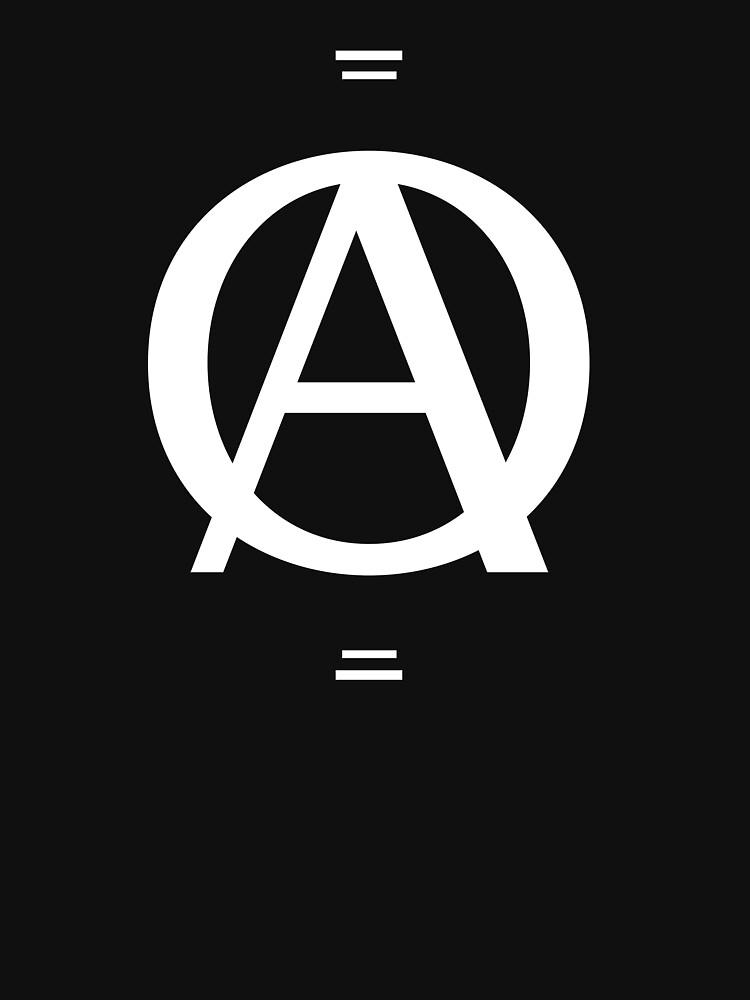 A over a O design by BlackRhino1