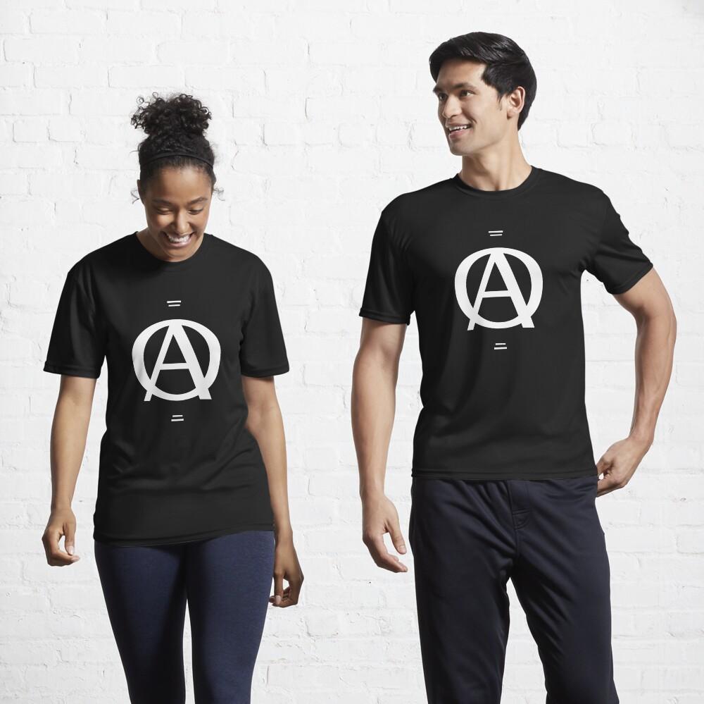 A over a O design Active T-Shirt