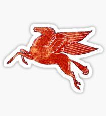 Mobil oil Pegasus Sticker