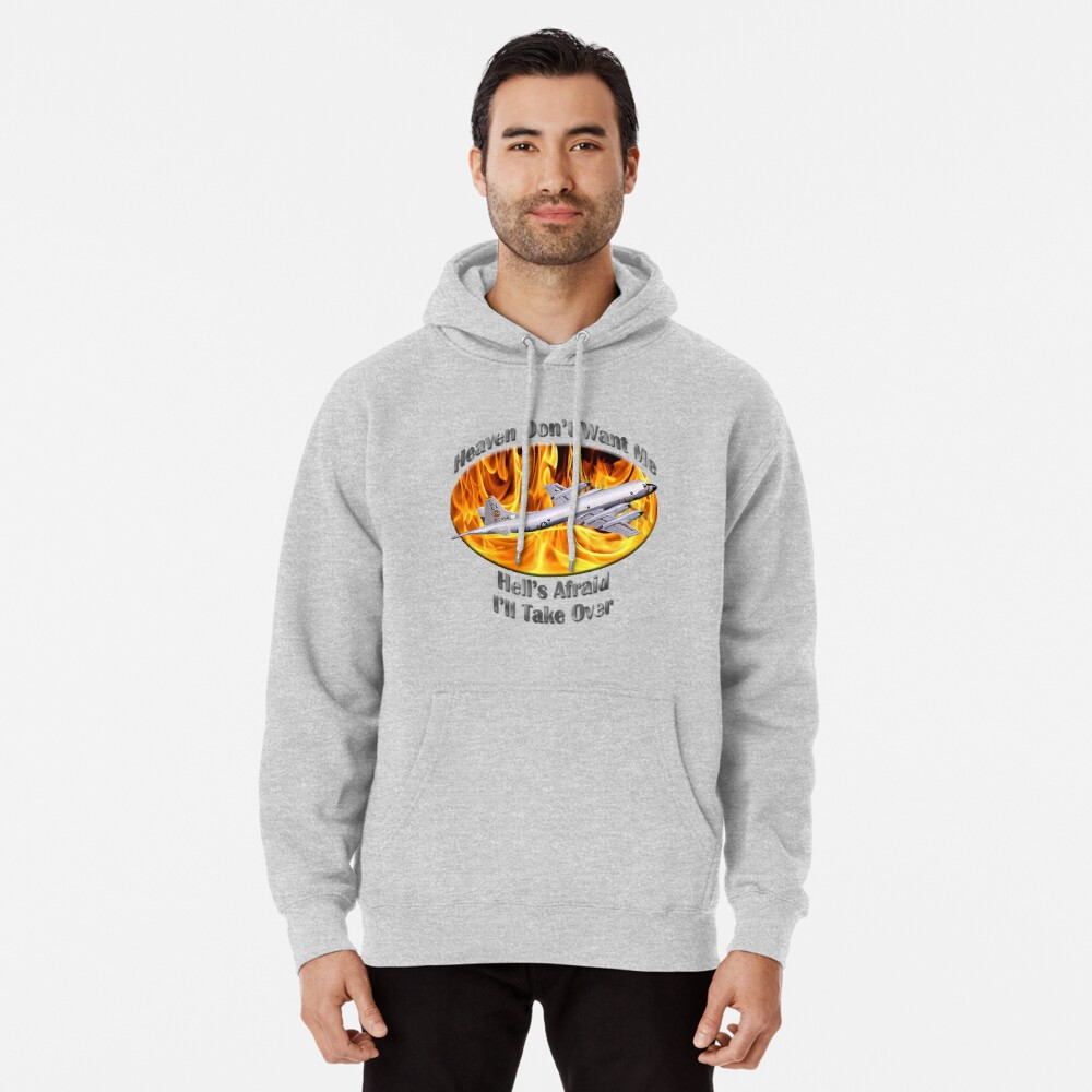 P-3 Orion Heaven Don't Want Me Pullover Hoodie