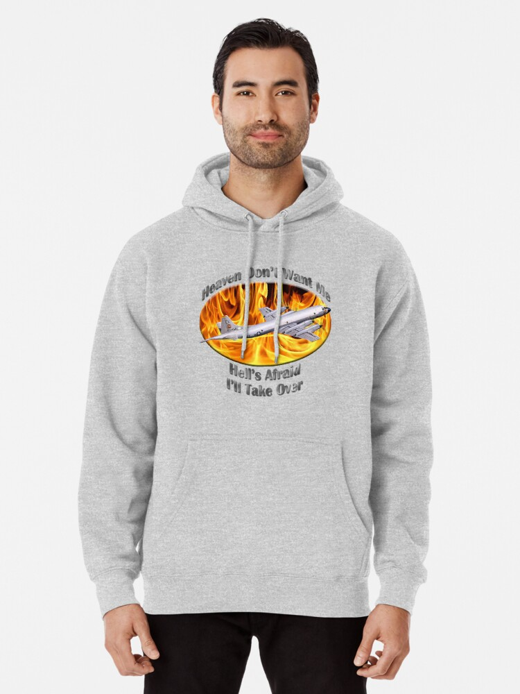 Alternate view of P-3 Orion Heaven Don't Want Me Pullover Hoodie